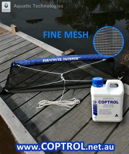 Control Algae Coptrol x1L & Skimmer