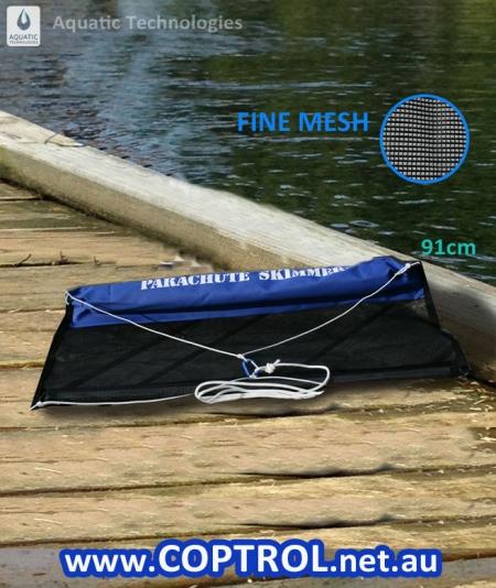 Algae Skimmer to physically remove algae