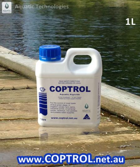 Coptrol safe algaecide for Australia