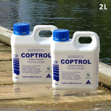Coptrol safe algaecide for Australia